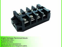 Блок высокой мощности терминала 2-10ways разъем шага 12mm