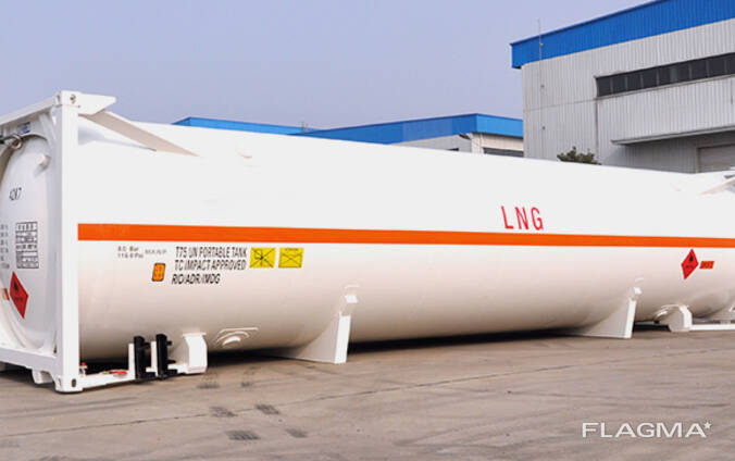 Brand new LNG tank container T75 45,500L