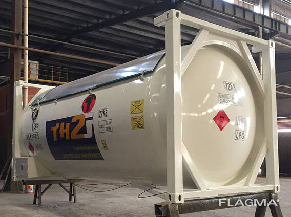 Brand new LPG tank container T50 24,700L