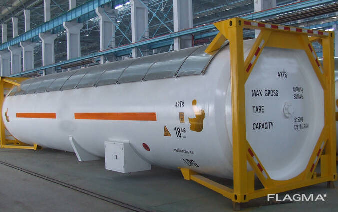 Brand new LPG tank container T50 52,000L