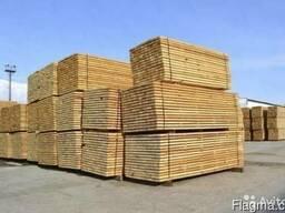Брус , пиломатериал древесина хвойных пород - фото 2