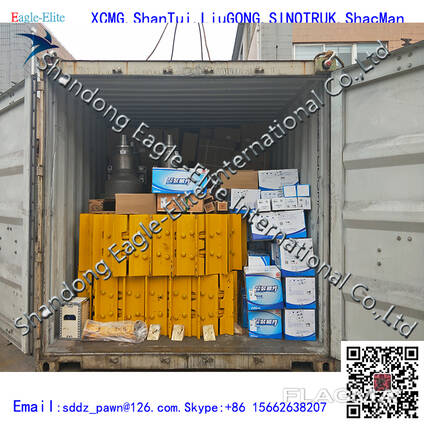 China Shantui bulldozer track link and spare parts