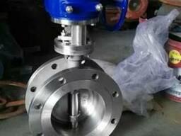 D343W-затвор дисковый поворотный из нержавеющей стали 304