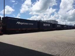 Доставим контейнер из Нанкин, Китая в Москву за 15 дней