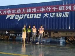 Доставим контейнер из Сучжоу/Шанхая в Москву за 15 дней