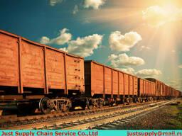 Доставки обсадной трубы из Китая в Казахстан, вагон