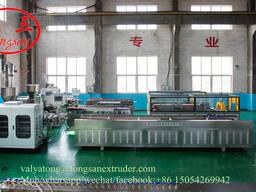 Экструзионная линия для производства террасной доски (дегинг) из ДПК