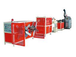 Экструзионная линия по производству одностенных гофрированных труб из PE/PP/PVC
