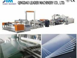 Экструзионная линия по производству листов из ПММА Акрила
