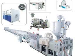 Экструзионное оборудование по производству ПЭ труб для водоснабжения и газоснабжение
