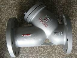 Фильтр сетчатый фланцевый стальной типа «Y» Ру16 Ду100, цена