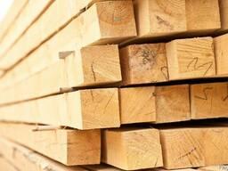 Fresh timber without antiseptic: пиломатериалы