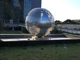 Городская скульптура шары под заказ в Китае фабрика