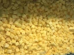 IQF кубики манго