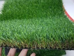 Покрытие искусственное толщина 30 мм, цвет зелёный