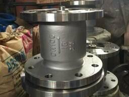 Клапан обратный вертикальный фланцевый нержавеющий Ру16 Ду10 - фото 1