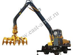 Колесный перегружатель леса, металлолома, сыпучих материалов XYSLZ400