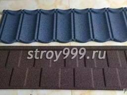 Оборудование металлочерепицы с присыпкой из Китая