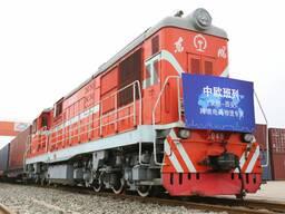 Контейнер по ЖД из Китая в Россию