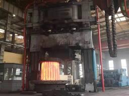 Кованный бандаж для вращающейся печи цементного завода