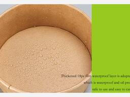 Kraft paper bowl, takeaway snacks and meals are all available, welcome to buy.
