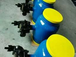 Кран шаровой цельносварной приварной стальной Ру16 Ду200, Ки