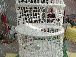 """Аттракцион красочные сети- Веревочный лабиринт """"Улей"""
