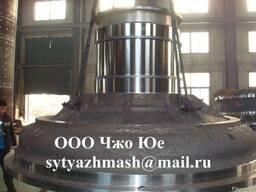 Крышки загрузочные и разгрузочные из стали 35Л, мельницы - фото 4