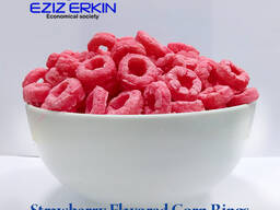 Strawberry Flavored Corn Rings