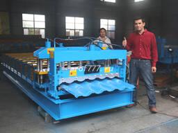 Купить профилегибочное оборудование для производства металлочерепицы 840 из Китая