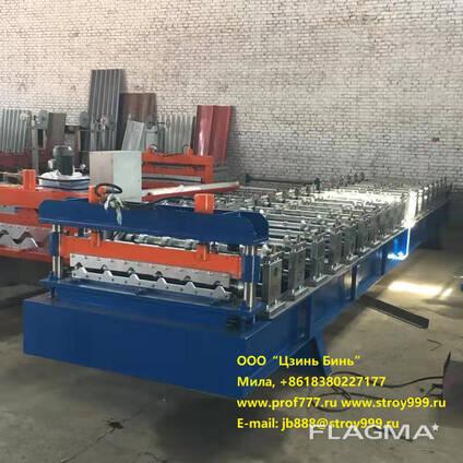 Купить станок для изготовления металлочерепицы из Китая