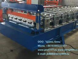 Купить станок по изготовлению металлочерепицы из Чэнду