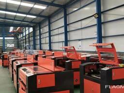 Лазерный станок для резки металлических заготовок и деталей