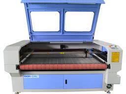 Лазерный станок для резки ткани с подачей SIGN-1610