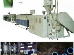Линия дляпроизводства армированных ППР труб стекловолокнам