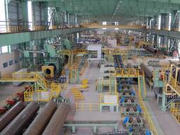 Линия для нанесения ВУС изоляции на стальные трубы нефте-газовые трубы
