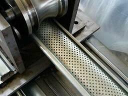 Линия для производства подъёмно-складчаты ворота в Китае