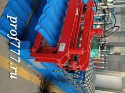 Линия для производства профнастида и металлочерепицы из Кита