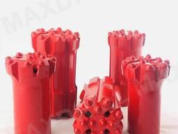 Maxdrill Standard Skirt 89mm Bench Drilling Bit For Rock Dri