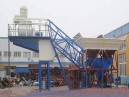 Мобильный бетонный завод / YHZS25
