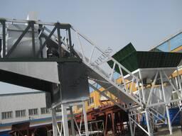 Мобильный бетонный завод / YHZS75