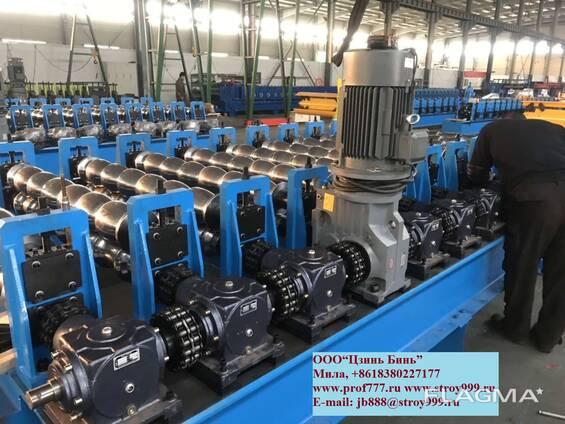Мощный станок металлочерипицы из Китайского Производителя