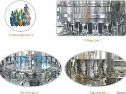 Оборудование для изобарического розлива газированных напитка