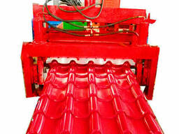 Оборудование для металлочерепицы производства