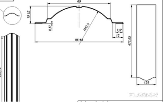 Оборудование для производства металлического Евроштакетника