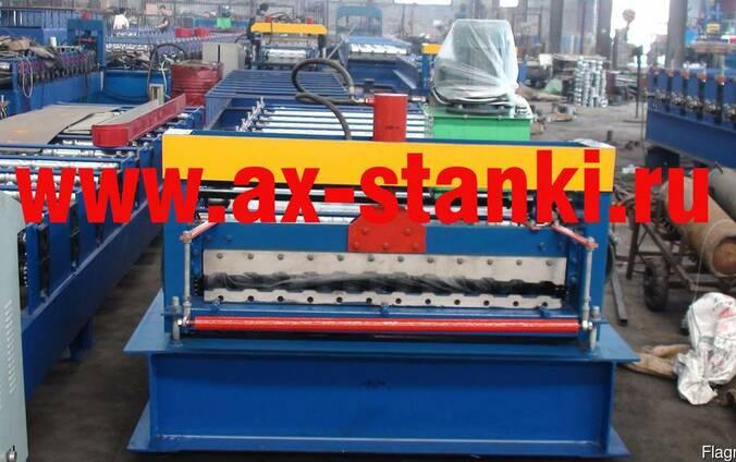 Оборудование для производства металлочерепицы и профнастила