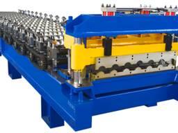 Оборудование для производства модульной металлочерепицы в К