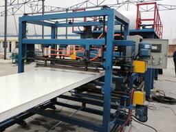 Оборудование для производства сэндвич панелей из Китая