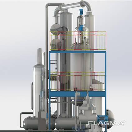 Оборудование для рафинации растительного и подсолнечного масла, пищевого животного жира