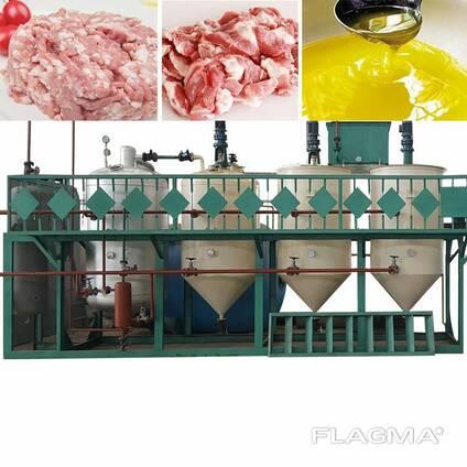 Оборудование для вытопки, плавления и переработки животного жира сырца, сала